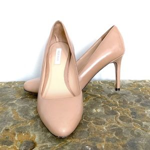 Cole Haan Grand.OS nude almond toe Bethany pump  5